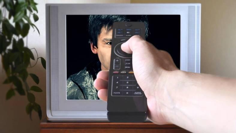 apagar televisor