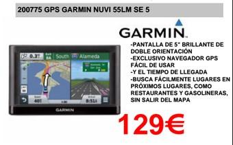 GPS Oferta en Diego Mendoza Electrodomésticos