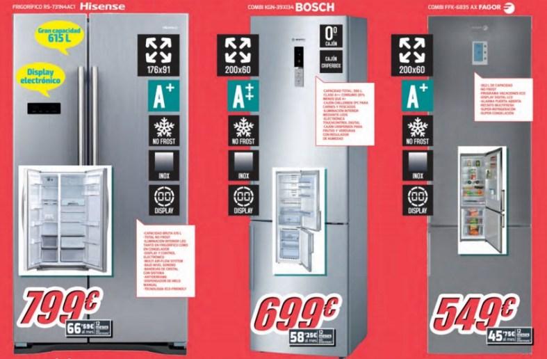 ofertas en en frigoríficos Diego Mendoza Electrodomésticos